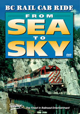 BC Rail Cab Ride From Sea to Sky DVD Pentrex British Columbia Railroad Budd cars