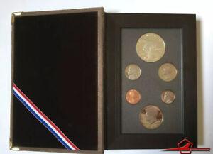 U.S.A 1983 Olympic Prestige Set, 6 Gem Proof Coins U. S. Mint. Whit Case