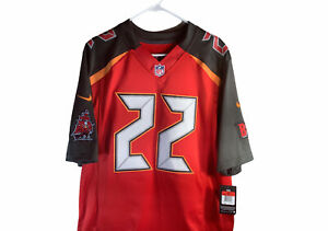 NIKE NFL Tampa Bay Buccaneers #22 Doug Martin Football Jersey Large Stitched