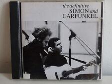 CD ALBUM The definitive SIMON and GARFUNKEL 469351 6