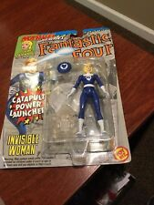 Invisible Woman Fantastic Four Action Figure Toy Biz 1994 Vintage and Clean!