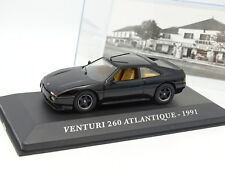Ixo Press 1/43 - Venturi 260 Atlantique 1991 Black