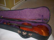 Violin 3/4 Model Antonius Stradivarius w/case &bow