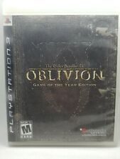 The Elder Scrolls IV: Oblivion - Game of The Year Edition PS3 Complete
