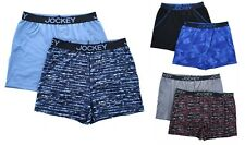 JOCKEY Men's Boxer Shorts No Bunch Boxers 2-Pack Wicking Microfiber Underwear