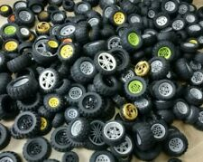 Genuine LEGO TECHNIC Wheels and Tyres sets of 4 various sizes and colours