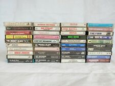 Vintage Cassettes Tape Lot Of 40 Pics Show Titles Great Titles 1960-1990's #2