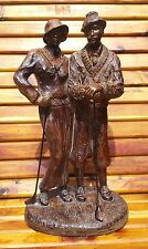 Very Rare Austin Productions Country Club Wooden Sculpture Alice Heath - GC!