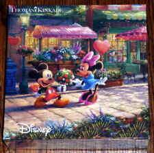 2017 Thomas Kinkade Walt Disney Mickey Minnie Mouse 750 Piece Jigsaw Puzzle