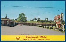 Dutchmaid Motel Ephrata Pennsylvania pa chrome postcard