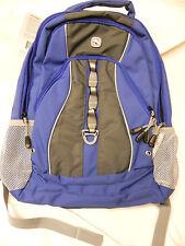 Swiss Gear Backpack Blue Grey #SA3078 School Book Bag