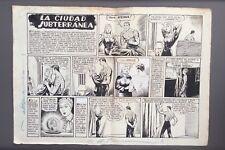 DELL ACQUA. Planche originale GIN TORO - JIM TAUREAU. Vers 1950. Bel état