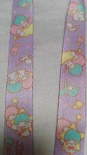 Sanrio Little Twin Stars Neck Strap Lanyard Key Chain Japan Beautiful