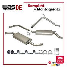Auspuffanlage Schalldämpfer VW T4 1.9 2.0 2.4D 2.5D BJ. 90-95 KURZ Auspuff