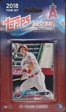 2018 Topps Baseball Anaheim Angels 17 card set Shohei Otani rc Mike Trout