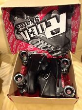 Rock Roller Skates Gt-50 Package Brand New In Box, Black Size 12