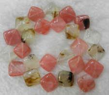 "Beautiful 14x14x6mm Multicolor red Watermelon Tourmaline Gems Loose Bead 15"""