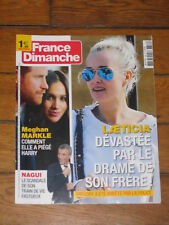 France Dimanche n° 3736 - Harry & Meghan, Nagui, Laeticia & Grégory, Desireless