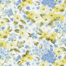 Bristol Daisy Floral Yellow White Fabri-Quilt 100% cotton fabric by the yard