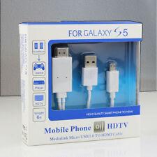 Adaptador MHL a HDMI - Samsung Galaxy S3, S4 y S5. Note 2 y 3 - Nuevo y con Caja
