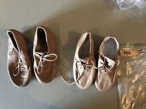 Childs Jazz Dance Shoes Tan Bloch Energetiks 11.5 12