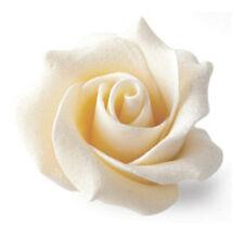 White Chocolate Rose (box of 15) Handmade, Wedding, Celebration, Cake Decoration