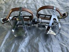 Campagnolo Record Pedals With Christophe Clips And Straps