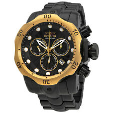 Invicta Venom Chronograph Black Dial Mens Watch 23895