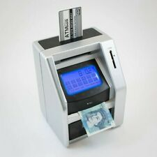 Electronic ATM Touchscreen Money Counting Box Savings Safe Digital Piggy Bank