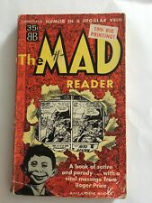 "MAD PAPERBACK  ""THE MAD READER""   Ballantine  1962"