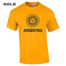 444 Argentina Flag Mens T-Shirt South America sun amazon peso soccer futbol cool