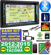 FOR 2012-15 TACOMA TOUCHSCREEN GPS NAVIGATION BLUETOOTH CD/USB RADIO STEREO PKG