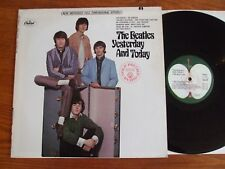 RARE VINYL LP THE BEATLES YESTERDAY & TODAY RARE APPLE LABEL USA UNPLAYED MINT