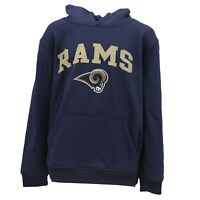 Los Angeles Rams Kids Youth Size NFL Official Hooded Sweatshirt New with Tags