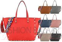 New Aztec Strap Large Tote Shoulder Bag Womens Multi Gem HandBag Xmas Gift Cheap