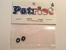 Patriot HO Slot Car Stock P3/P2 Front Tires A3P26 (bx14) NIP