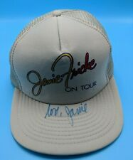 JANIE FRICKE / ON TOUR vintage trucker-style adjustable cap / hat - AUTOGRAPHED