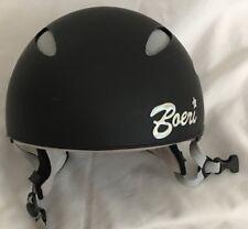 Black Grey Boeri Skiing Snowboarding Adult Small Helmet CS