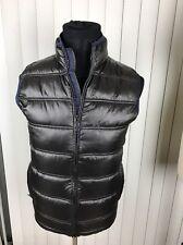 Zara Men Men's Sleeveless Brown Puffer Vest Large