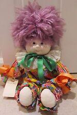 Vintage Handmade China Clown Doll by Sarah Anne Deamer