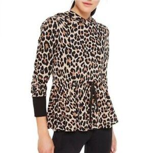 Kate spade leopard print hoodie