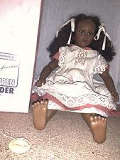 Annette Himstedt 27� Fatou Black Barefoot Children Series Doll - Made in Spain
