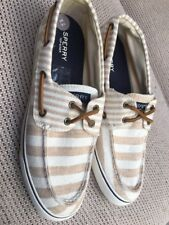Sperry Top-Sider Woman's 2-Eye Canvas Spripe UK 6.5 BNWOB