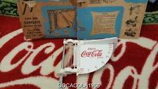 Rare OLD Coca Cola WEATHER Coke WATCH THERMOMETER 60 Gauge Water Glass Measures