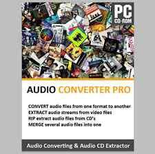 CD de música Rip Ripper ripeo software convertir WAV a MP3 Audio Merge editar