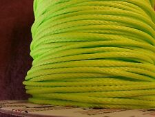 1/8 in, per-10 ft Neon Green Endura 12, New England Ropes dyneema SK75 #1527-04