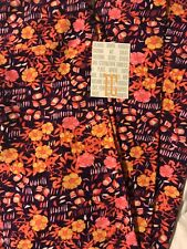 Lularoe TC Tall Curvy Leggings Solid Purple Pink Yellow Hawaiian 🌺 Floral 🦄