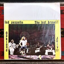 Led Zeppelin The Last Brawl Live Oakland 1977 NOT TMOQ TAKRL Vinyl LP Vintage
