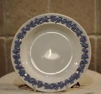 Vintage Wedgwood Small Porcelain Blue & White Plate