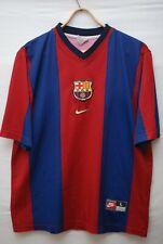 BARCELONA BARCA 1998 1999 HOME FOOTBALL SHIRT SOCCER JERSEY NIKE SIZE L
